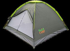 Палатка трехместная GreenCamp (GC1012), фото 2