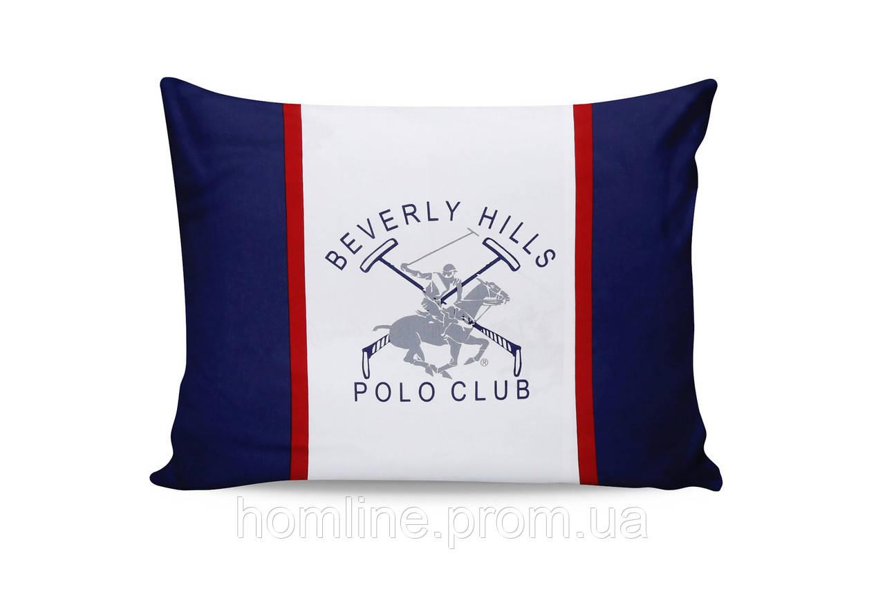 Наволочки Beverly Hills Polo Club Dark Blue 50*70 (2 шт) BHPC 001