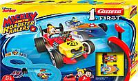 Автотрек First, Микки и гонки роадстеров, Carrera (CR-20063012)