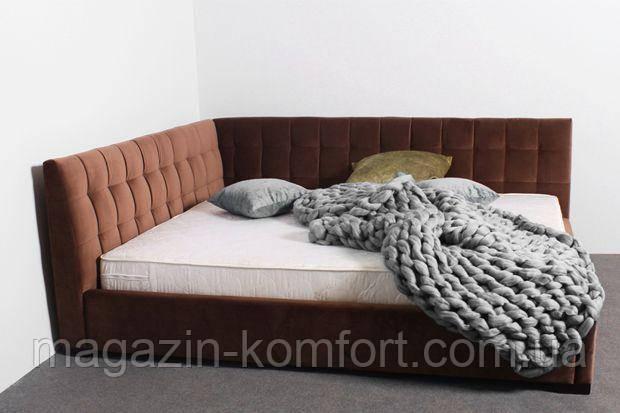 Двуспальная кровать Лео серия Амур