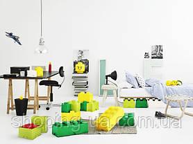 Восьми точечный светло желтый контейнер для хранения Lego 40041741, фото 2