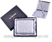Портсигар классический на 20 сигарет в подарочной коробке 4375-1