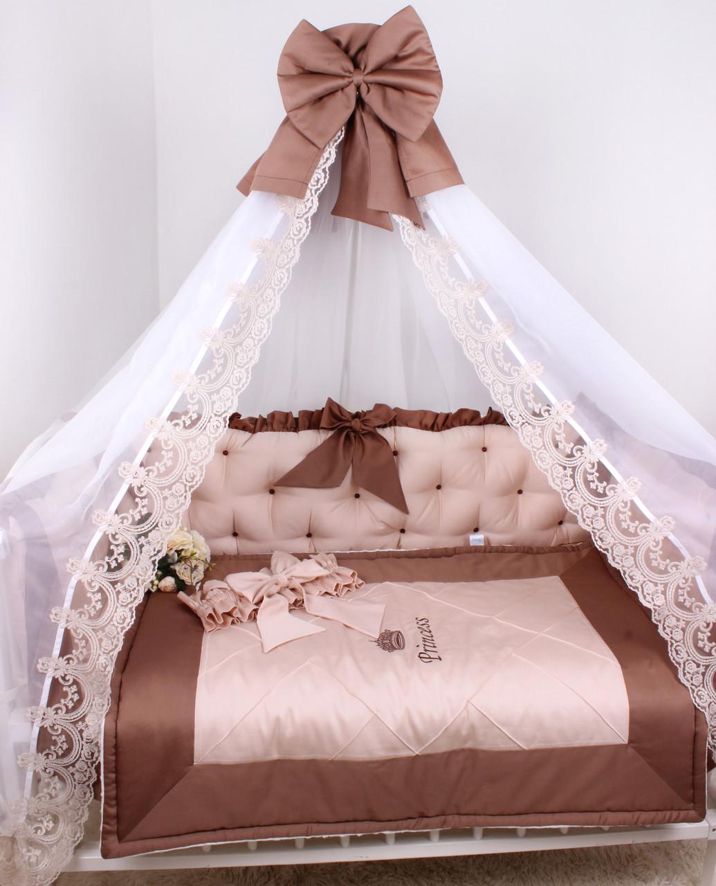 Комплекта в детскую кроватку для Принцессы
