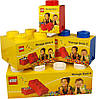 Восьми точечный светло желтый контейнер для хранения Lego 40041741, фото 5