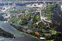Расчистка каналов в Конче-Заспе (дно, водоросли)