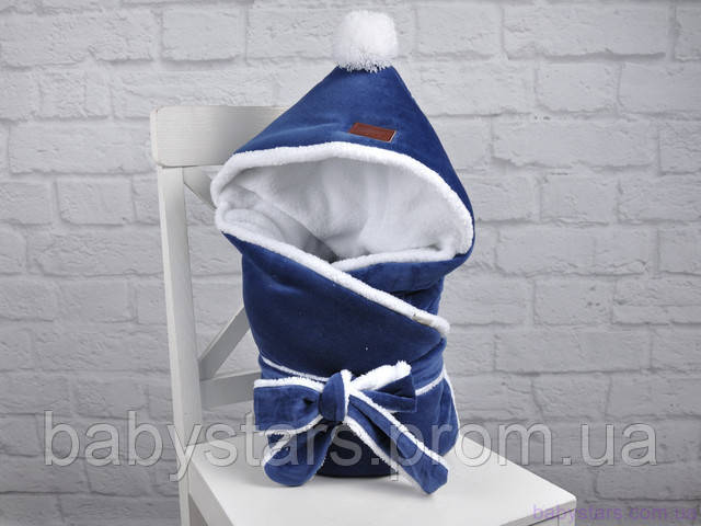 конверт на виписку для новонародженого зимовий