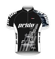 Велофутболка короткий рукав Bicycle Line Pride Team размер S черный
