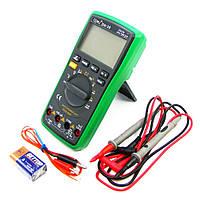 Мультиметр цифровой BAKU BA-28 с функцией Auto Off, подсветкой, термопарой, автоопределением номинала измерения (ток до 10A)
