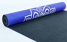 Коврик для йоги замшевый FI-5662-10, фото 3