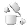 Наушники беспроводные Bluetooth HAVIT G1, white/gray с микрофоном и беспроводной зарядкой