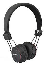 Бездротові Bluetooth стерео навушники НЯ X2 з МР3 і FM чорні (4068)