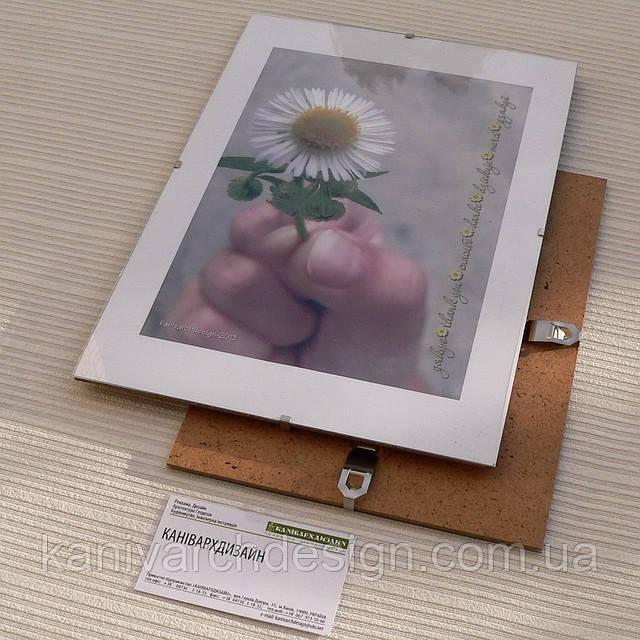 Антирама 700х1000мм антирамка безбагетная клямерная рама рамка-клип, фото 1