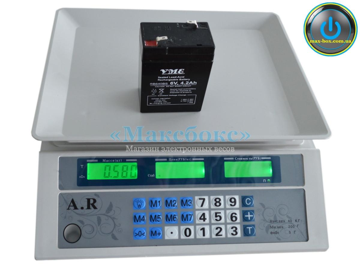 Весы торговые ACS-718 A R