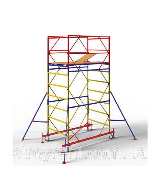 Передвижная вышка-тура 1,2х2,0 - 3 м аренда, прокат