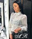 Блуза травка с тесьмой, фото 2