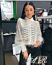 Блуза травка с тесьмой, фото 3