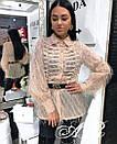 Блуза травка с тесьмой, фото 7