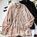 Блуза травка с тесьмой, фото 8