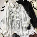 Блуза травка с тесьмой, фото 9