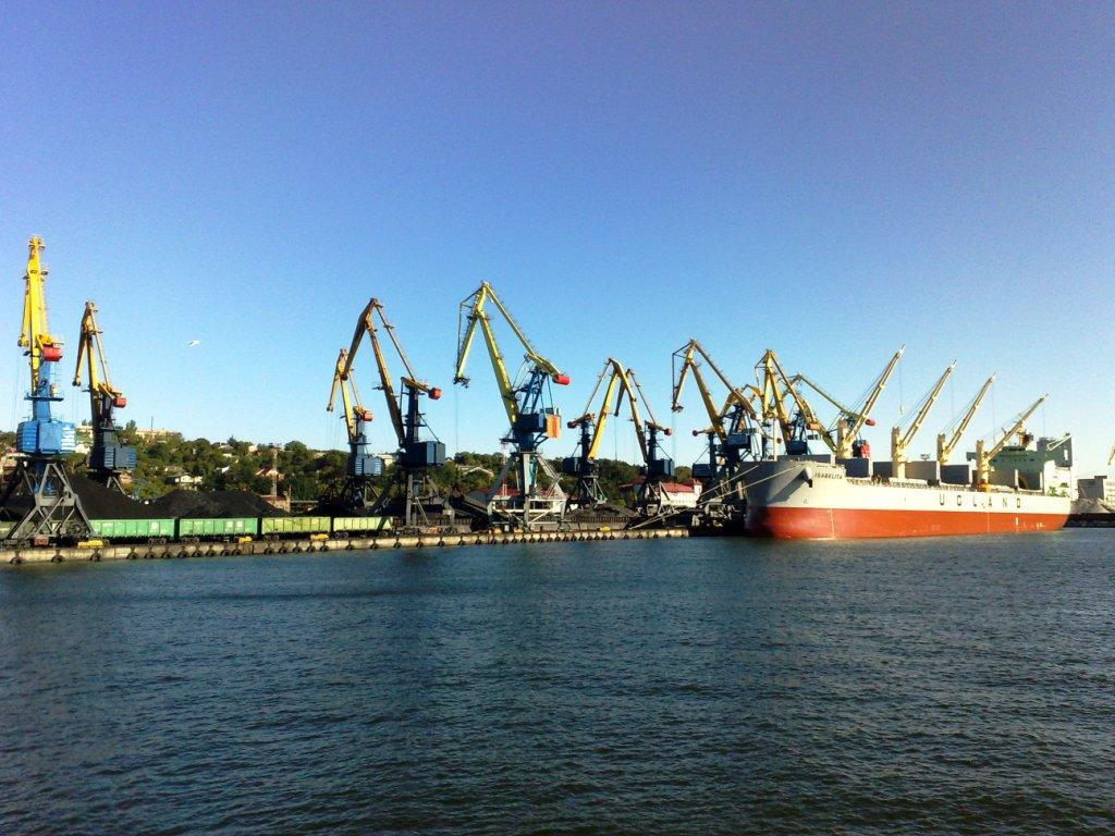 Строительство акватории порта под ключ