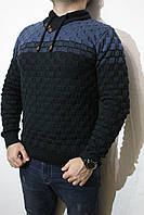 Молодежный свитер Турция L. Джемпер шерстяной мужской приталенный, для стройных, высоких мужчин.