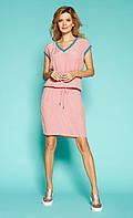 Zaps платье Filippa розового цвета, коллекция весна-лето 2019.