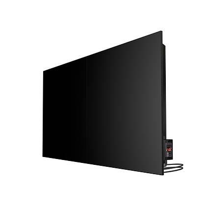 Керамічний інфрачервоний конвекційний обігрівач TC1000C 1000Вт (Чорний), фото 2