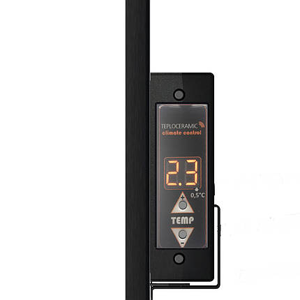 Керамічний інфрачервоний панельний обігрівач TC450R 500Вт (Бежевий мармур), фото 2