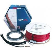 Набор для системы «Теплый пол» с двухжильным нагревательным кабелем, монтажной лентой и гофротрубкой DEVIflex™
