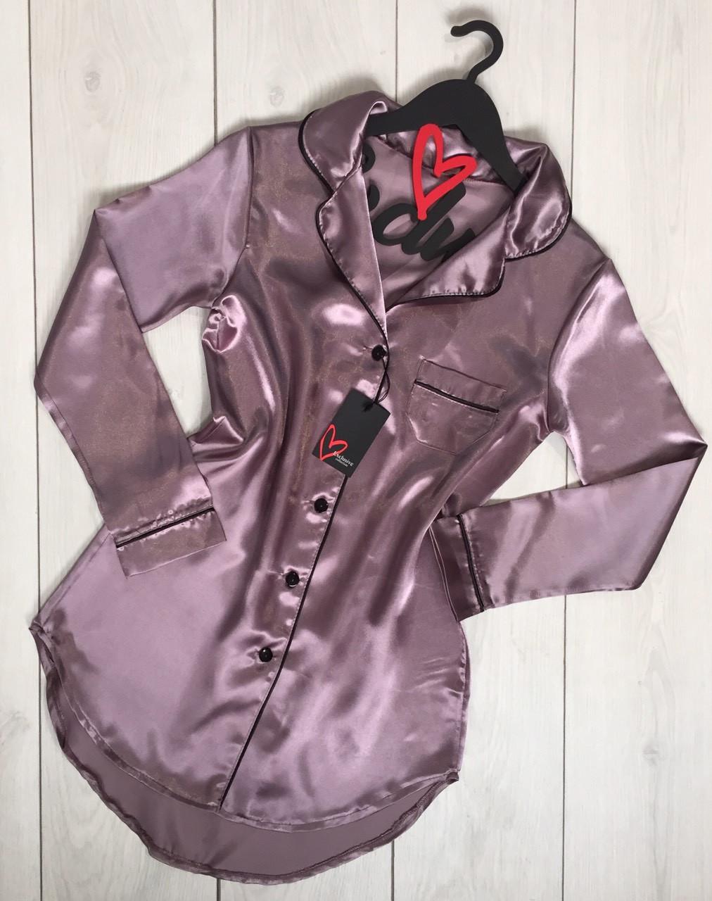 Женская одежда для дома и снаТМExclusive, атласное платье Good Night.