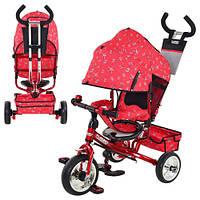Трехколесный велосипед Profi Trike М 5363-5 Eva Foam Красный