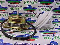 Ремкомплект для стиральной машины полуавтомат (двигатель отжима YYG-70, редуктор под квадрат, ремень A 675 E)