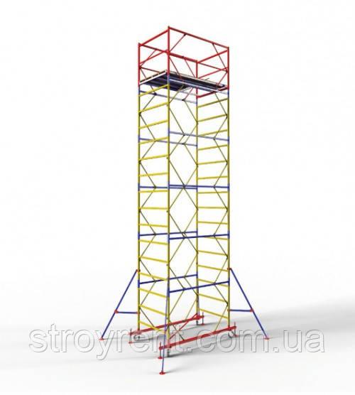 Передвижная вышка-тура 1,2х2,0 - 6 м аренда, прокат
