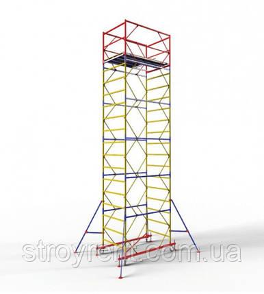 Передвижная вышка-тура 1,2х2,0 - 6 м аренда, прокат, фото 2