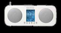 Радио с будильником Gotie  GRA-200B
