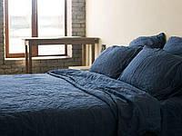 Льняное постельное белье, цвет и размер на выбор. Двойной, Евро, Семейный  комплект постельного белья
