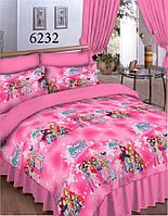 Детское постельное белье Винкс 6232 ранфорс ТМ Вилюта розовый WINX
