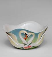 Фарфоровый салатник Лебеди (Pavone)