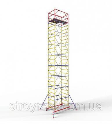 Передвижная вышка-тура 1,2х2,0 - 9 м аренда, прокат, фото 2