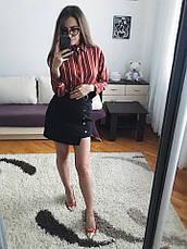 Женская рубашка из креп-шифона , фото 2