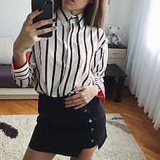 Женская рубашка из креп-шифона , фото 3
