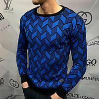 Свитшот мужской Calvin Klein D4580 черно-синий