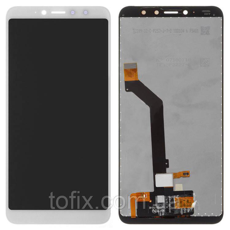 Дисплей для Xiaomi Redmi S2 (Redmi Y2), модуль в сборе (экран и сенсор), белый, оригинал