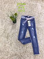 Джинсові брюки для дівчаток S&D 8-18 років