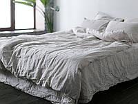 Льняное постельное белье, цвет и размер на выбор. Полутор, Двойной, Евро, Семейный  комплект постельного белья