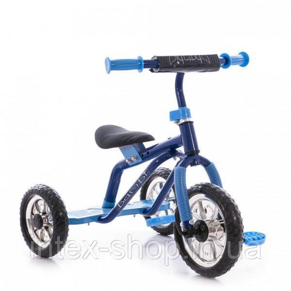 Трехколесный велосипед Profi Trike M 0688-1 Голубой