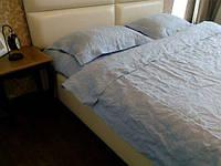 Льняное постельное белье, цвет и размер на выбор. Полутор, Двойной, Евро, Семейный  комплект постельного белья, фото 1