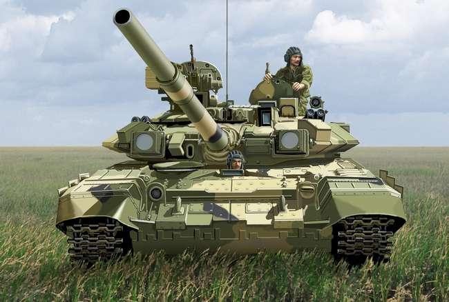 Т-90. Сборная модель танка в масштабе 1/72. ACE 72163