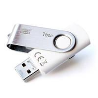 Флеш память 16GB USB 2.0 GOODRAM Twister (UTS2-0160W0R11) White