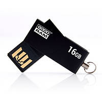 Флеш пам'ять 16GB USB 2.0 GOODRAM UCU2 (UCU2-0160K0R11) Black (UCU2-0160K0R11)